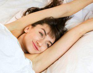 Awake by moving body