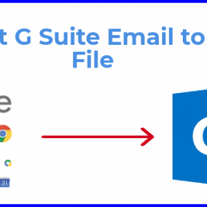 Export G Suite Email to PST File