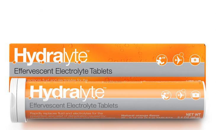 electrolyte tablet powder