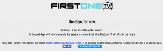 firestonetv shutdown
