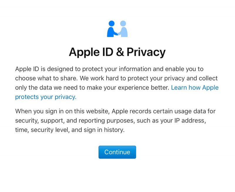 apple id privacy