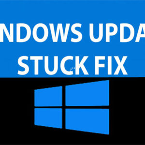 Windows update stuck