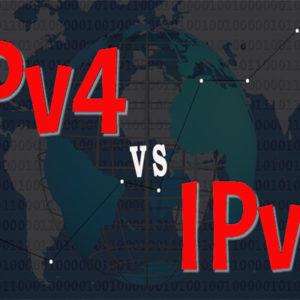 ipv4 vs ipv6