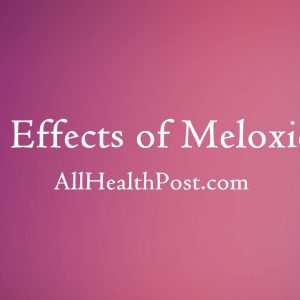 meloxicam side effects