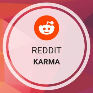 get karma on Reddit