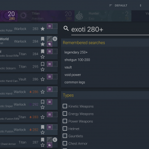 destiny inventory manager