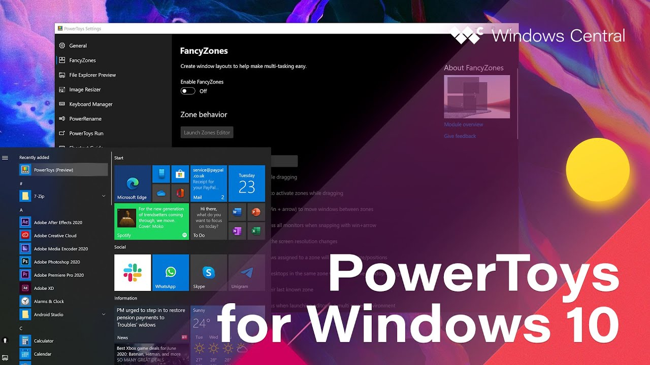 Microsoft Windows 10 Power Toys