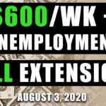 $600 unemployment extension