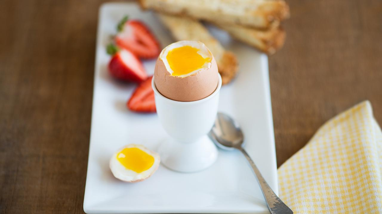 soft boiled egg time