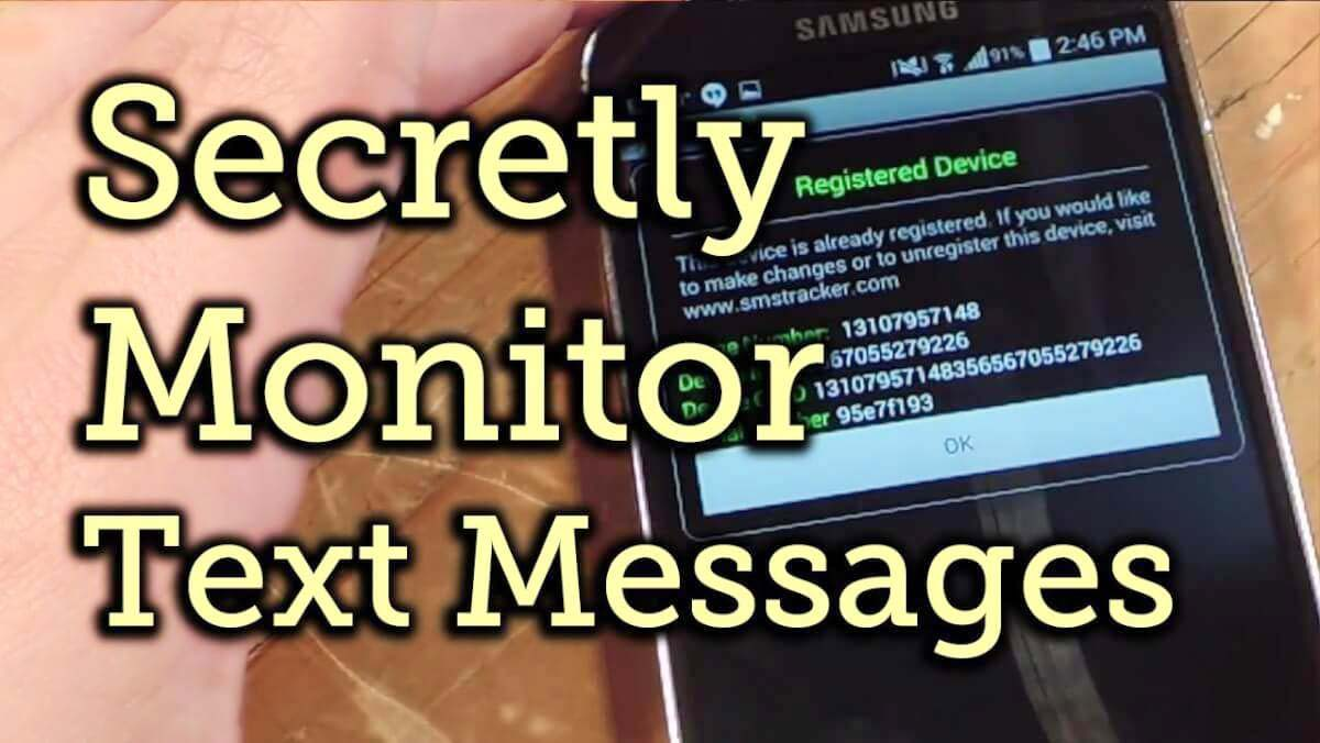 Text Messages Without Touching