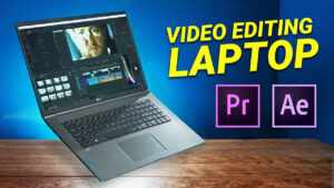 Video or Photo Editing Laptop