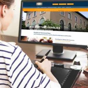 Funeral Insurance Website Design